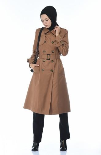 Cinnamon Trench Coats Models 6713-05