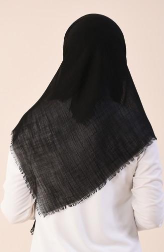 Echarpe Coton 2377-06 Noir 2377-06