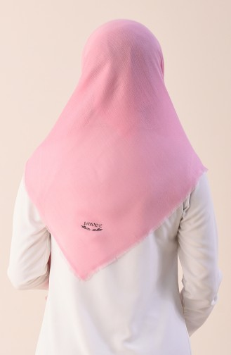 Plain Cotton Scarf Pink 901544-17