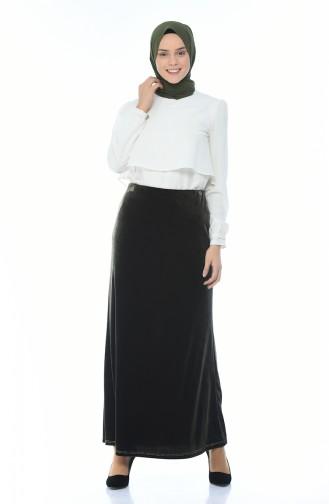 Dark Green Skirt 8K2801403-02