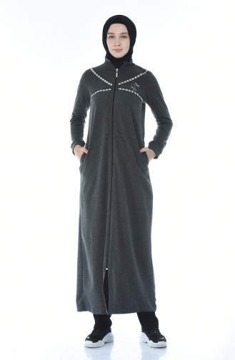 Abaya Sport a Fermeture 9106-05 Antracite 9106-05