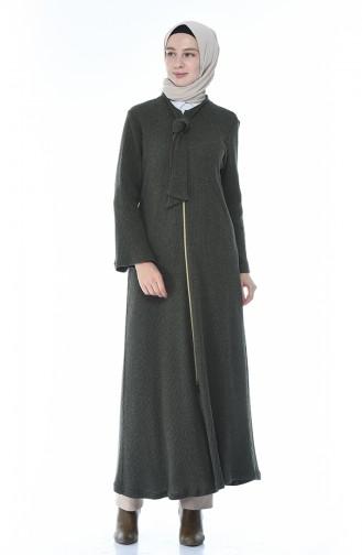 Khaki Abaya 1300-01