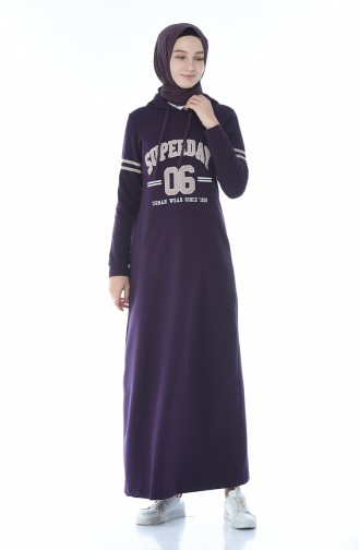 Purple Dress 9088-01