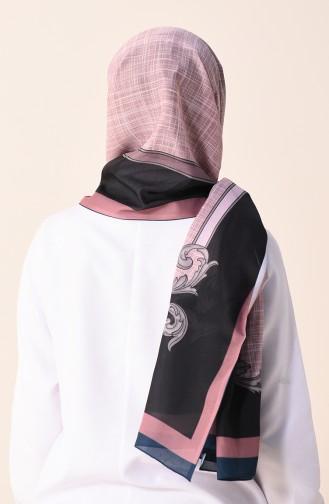 Patterned Cotton Shawl Smoky 95299-07