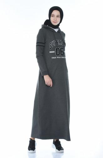 Anthracite Dress 9088-02