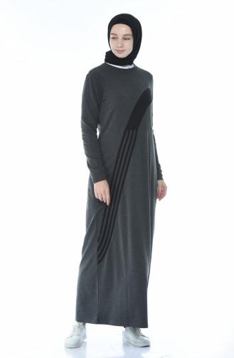 فستان رياضي مخطط انتراسيت 9116-03