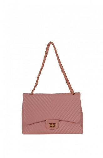 Lamberti Women Chain Cross Bag Powder 8765985125056