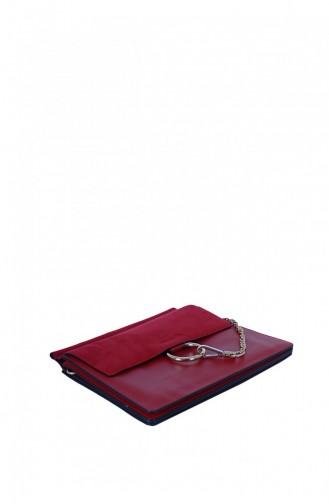 Lamberti 7024 Kadın Çapraz Postacı Çanta Kırmızı