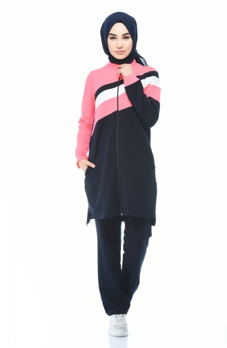 Navy Blue Sweatsuit 9101-02