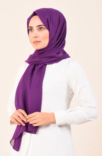 Cotton Bursa Winding Shawl Dark purple 4536-07