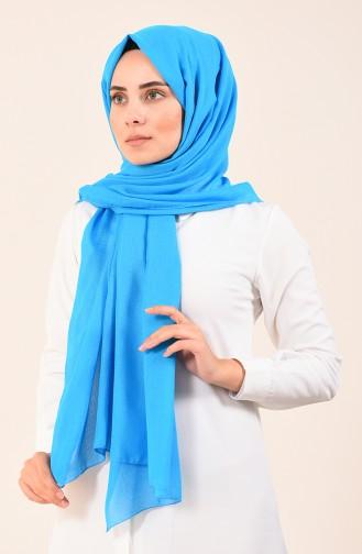 Pamuksu Bursa Dolama Şal 4536-14 Mavi 4536-14