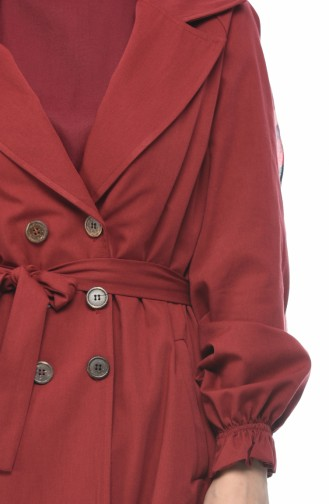 Weinrot Trench Coats Models 1260-0