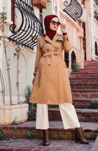 Kamel Trench Coats Models 6713-02