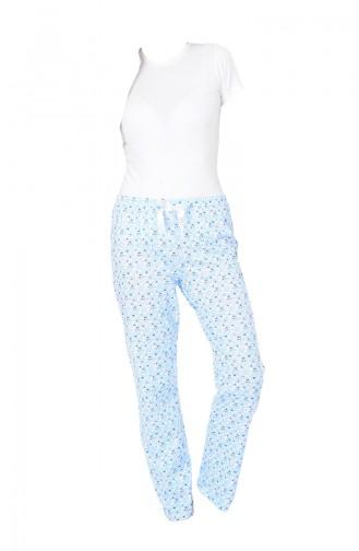 Bayan Pijama Alt 27131 Mavi