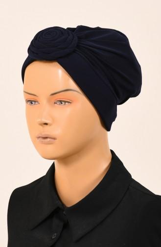 Dunkelblau Bonnet 1049-01