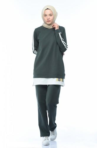 Khaki Sweatsuit 9104-01