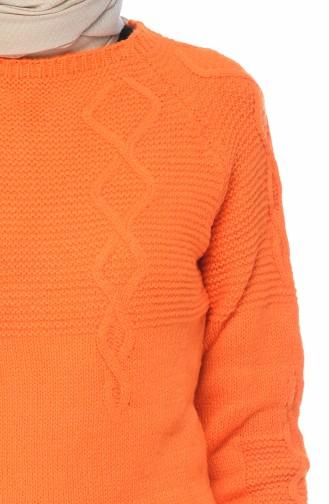 Pull Tricot 8021-10 Orange 8021-10