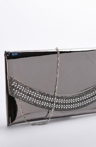 Women´s Mirror Evening Bag Platinum 0348-01