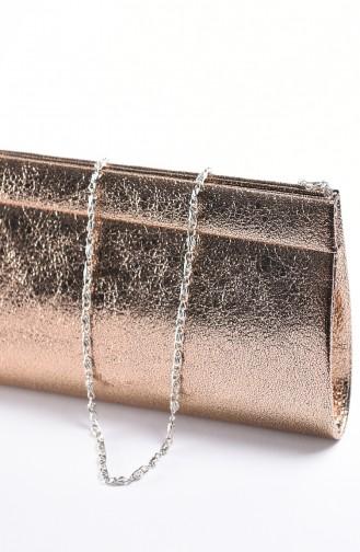 Damen Kristall Abendkleid Tasche 0508-03 Puder 0508-03