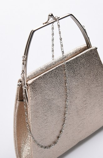 Damen Kristall Abendkleid Tasche 0509-05 Gold 0509-05