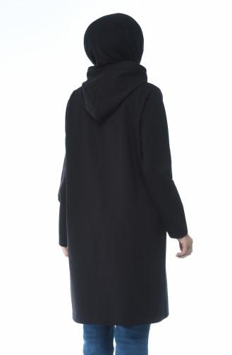 Hooded Sweatshirt Black 0050-02