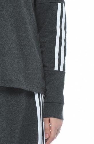 Spor Bluz Etek İkili Takım 9110-03 Antrasit 9110-03