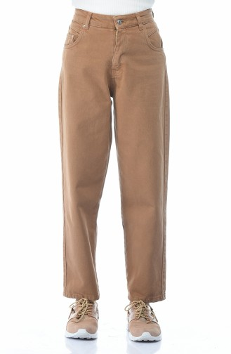 Cepli Kot Pantolon 2599-03 Tarçın Renk