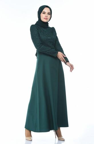 Emerald İslamitische Jurk 3104-02