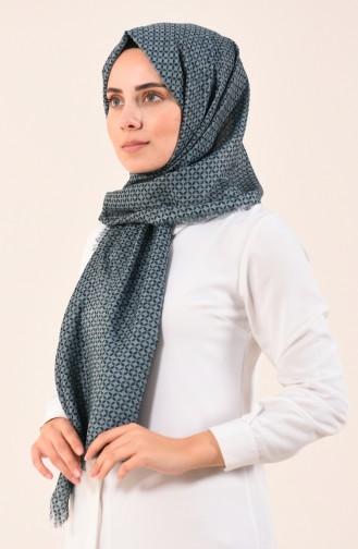 Karaca Patterned Cotton Shawl Green 90613-10