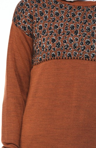 Tobacco Brown Knitwear 8009-04