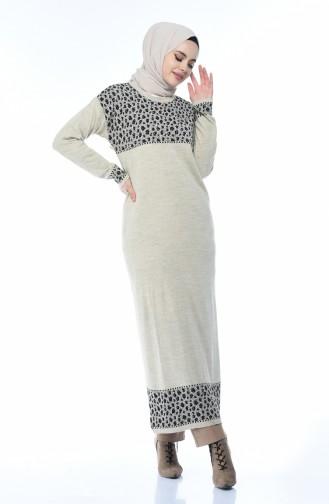Beige Knitwear 8009-09