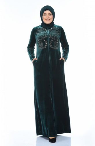 Emerald Abaya 1915-02