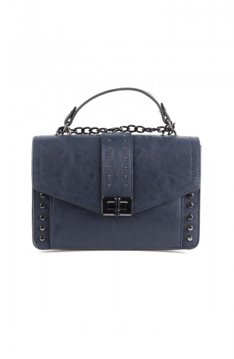 Women´s Cross Shoulder Bag Navy blue 4008-02