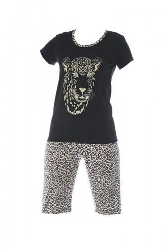 Schwarz Pyjama 3123