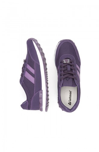 Purple Sport Shoes 2207Y-04