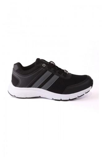 Black Sport Shoes 4240Y-01