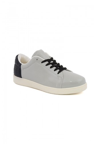 Gray Sport Shoes 01-01