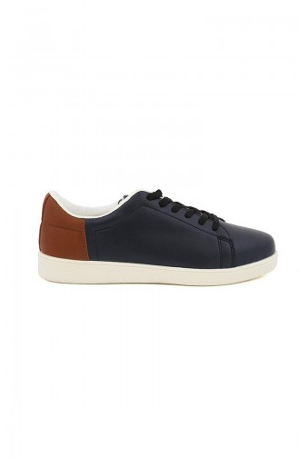 Navy Blue Sport Shoes 01-05