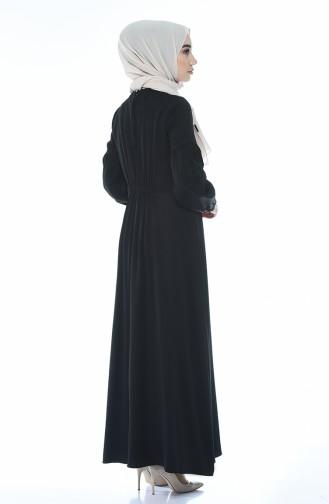 Robe Manches élastique 8003-04 Noir 8003-04