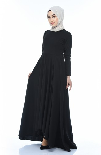 A Pleated Dress Black 1955-02