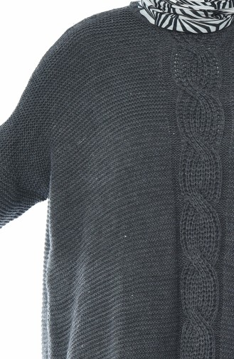 Tricot Tunic Anthracite 1924-10