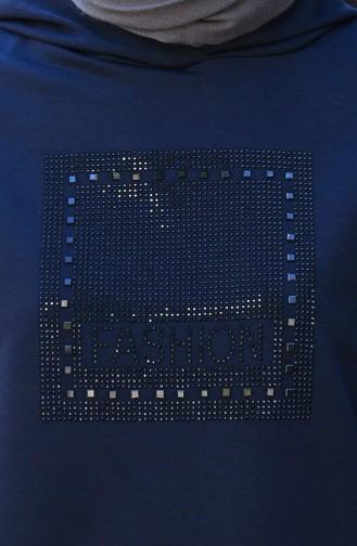 بيجامة الرياضة أزرق كحلي 3025-01