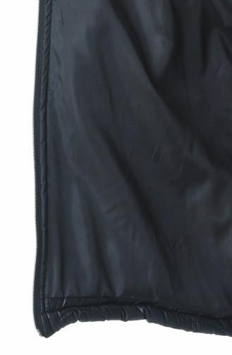 سترة بدون أكمام أسود 2003-01