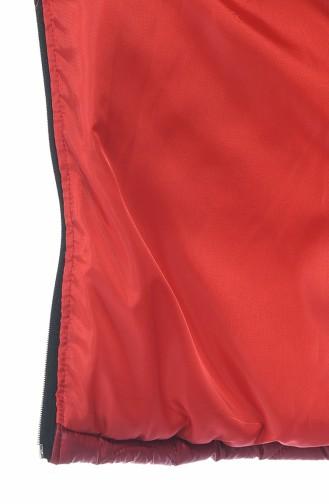Claret red Gilet 2003-04