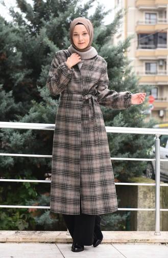 Ekose Kaşe Kap 5509-01 Vizon 5509-01