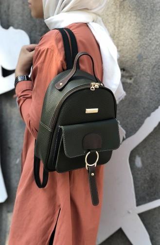 حقيبة ظهر بلون أخضر 08-04