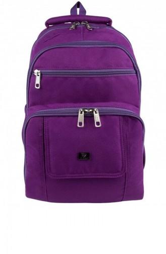 Purple Baby Care Bag 9319 Mor