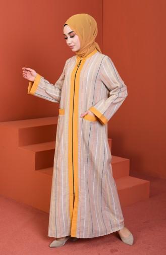 Beige Abaya 4501-01