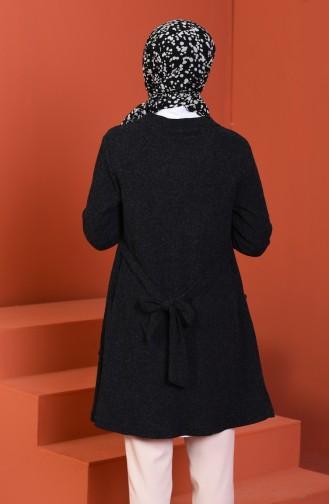 كادريجان تريكو أسود 1301-03
