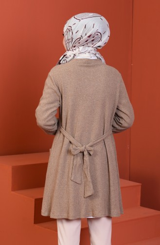 Tricot Cardigan Mink 1301-08